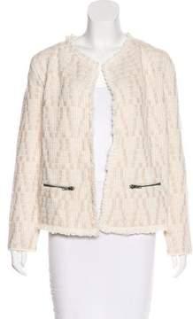 Ella Moss Wool Patterned Jacket
