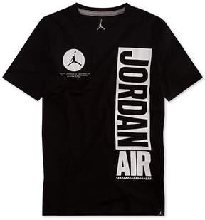 Jordan Air Graphic-Print Cotton T-Shirt, Big Boys (8-20)