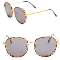 Gentle Monster Mad Crush 57MM Oval Sunglasses