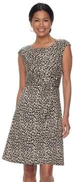 Dana Buchman Women's Twist-Front Dress