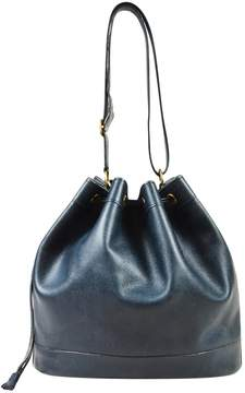 Hermes Market leather handbag - NAVY - STYLE