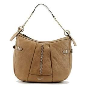 GUESS Women's Abbey Ray 453002 Hobo Handbag Camel