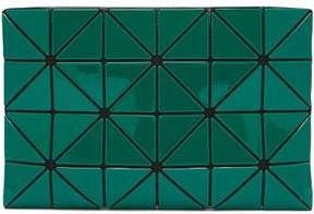 Bao Bao Issey Miyake Lucent Two Tone Flat Pouch Bag - Womens - Green Multi