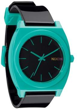 Nixon Men's Time Teller A1191060 Teal Polyurethane Analog Quartz Fashion Watch