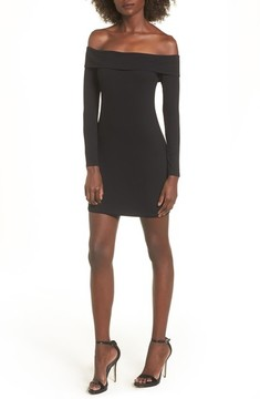 Privacy Please Women's Silas Off The Shoulder Body-Con Dress