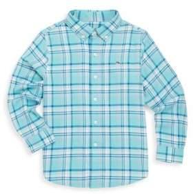 Vineyard Vines Toddler's, Little Boy's & Boy's Loblolly Plaid Cotton Button-Down Shirt