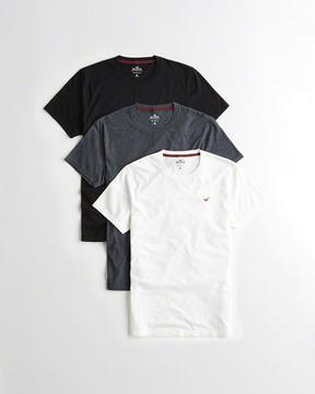Hollister Must-Have Crewneck T-Shirt Multipack