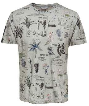 ONLY & SONS Print Washed Out Cotton Tee