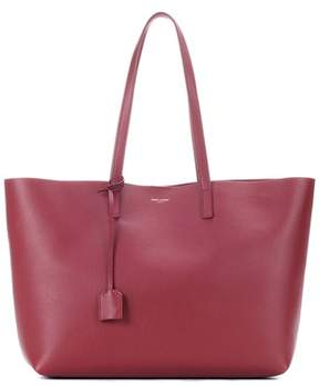 Saint Laurent East-West leather shopper - RED - STYLE