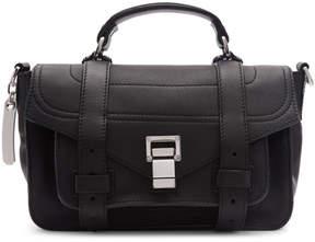 Proenza Schouler Black Tiny PS1 Messenger Bag