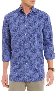 Daniel Cremieux Printed Long-Sleeve Woven Shirt