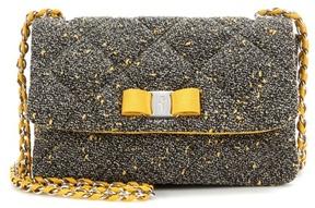 Salvatore Ferragamo Gelly quilted fabric shoulder bag