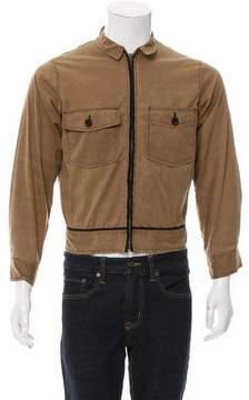 Billy Reid Lightweight Zip-Up Jacket