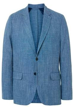 Gant Men's Light Blue Wool Blazer.