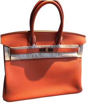Hermes Birkin leather tote