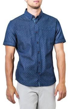 7 Diamonds Men's Innervision Woven Shirt