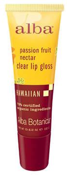 Passionfruit Nectar Clear Lip Gloss by Alba Botanica (0.42oz Lip Gloss)