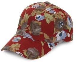 Collection 18 Floral Cotton Baseball Hat