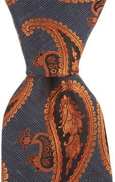 Murano Gray Paisley Narrow Tie