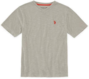 U.S. Polo Assn. USPA Short Sleeve V Neck T-Shirt Boys