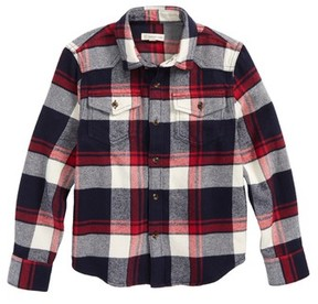 Tucker + Tate Toddler Boy's Plaid Flannel Shirt