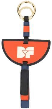 Diane von Furstenberg logo printed keychain