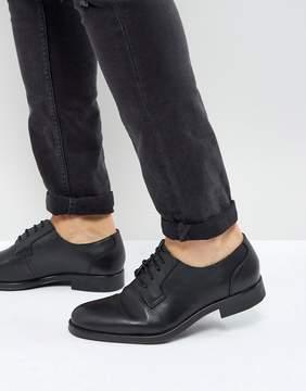Selected Oliver Derby Shoes In Black