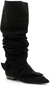 J.W.Anderson Suede Ruffle Boots