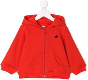 Macchia J Kids half star patch hoodie