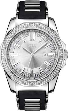 JBW Men's Stainless Steel Diamond Watch, 48mm