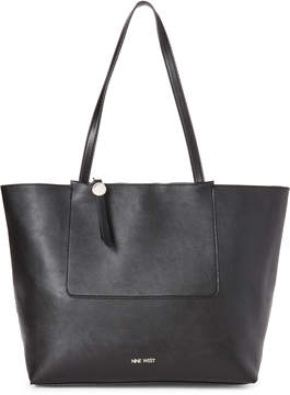 Nine West Black Nylah Tote