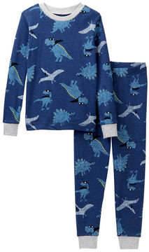 Petit Lem Super Dino Pajama Set (Toddler & Little Boys)