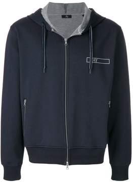 Fay zipped hoodie