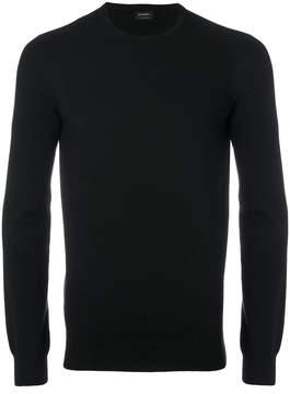 Jil Sander ribbed crew neck sweater