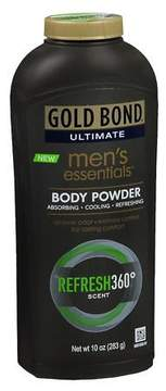 Gold Bond Ultimate Men's Essentials Body Powder Refresh 360 Degrees