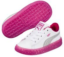 Puma Basket Iced Glitter 2 Kids Sneakers