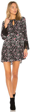 BCBGeneration Shirt Dress With Lace Trim