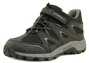 Merrell Hilltop Quick-close Wtrpf Round Toe Leather Hiking Shoe.