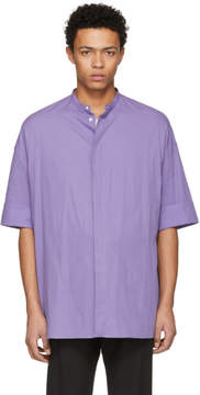 Haider Ackermann Purple Oversize Shirt