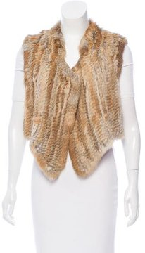 Antik Batik Knitted Fur Vest