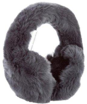 Glamourpuss Grey Fur Earmuffs w/ Tags