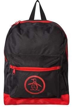Original Penguin Black and Red Backpack
