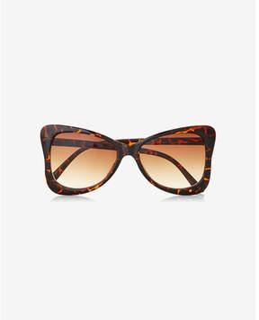 Express tortoiseshell genesis sunglasses