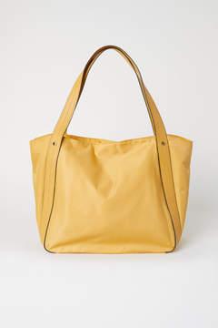 H&M Nylon Shopper - Yellow