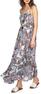 1 STATE 1.STATE Print Maxi Dress
