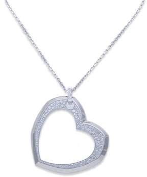 Audemars Piguet 18K White Gold Diamond Heart Pendant