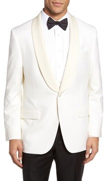 Hickey Freeman Men's Classic B Fit Wool Dinner Jacket