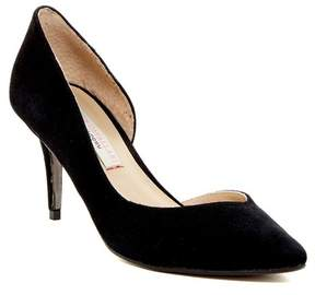 Kristin Cavallari by Chinese Laundry Oracle Half d'Orsay Suede Pump