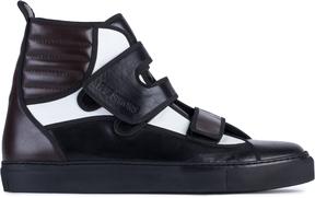 Raf Simons High Velcro Sneakers