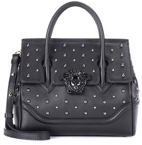 Versace City Stud Palazzo Empire leather tote